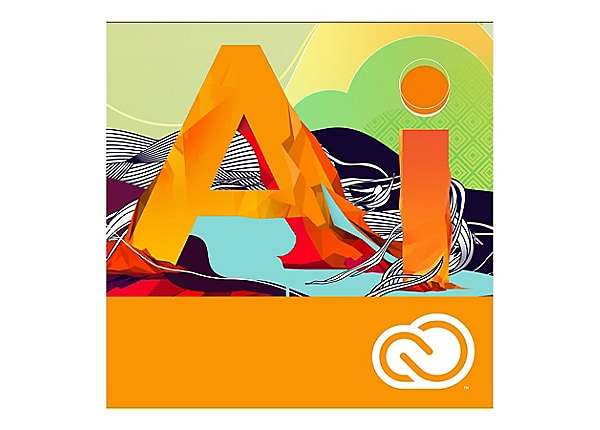 Adobe Illustrator CC - Team Licensing Subscription New (monthly) - 1 user