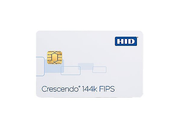 HID Crescendo 144K FIPS SEOS 8k with Prox