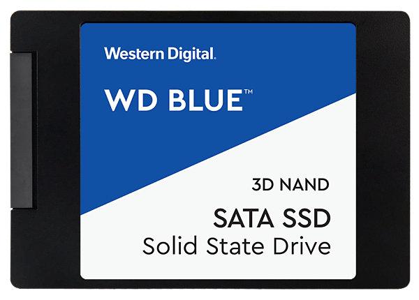 WD Blue 3D NAND SATA SSD WDS500G2B0A - solid state drive - 500 GB - SATA 6G