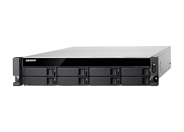 QNAP TS-873U-RP - NAS server - 0 GB