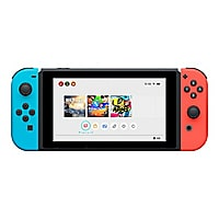 Nintendo Switch with Neon Blue and Neon Red Joy-Con - game console - black,