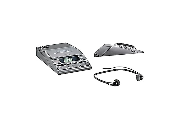 Philips 720-T Transcription System with Foot Control