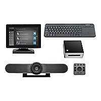 Logitech Premium MeetUp Kit - video conferencing kit - with Intel NUC Kit N
