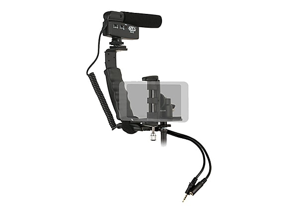 MXL Mobile Media Videographer's Essentials Kit - support system - shooting