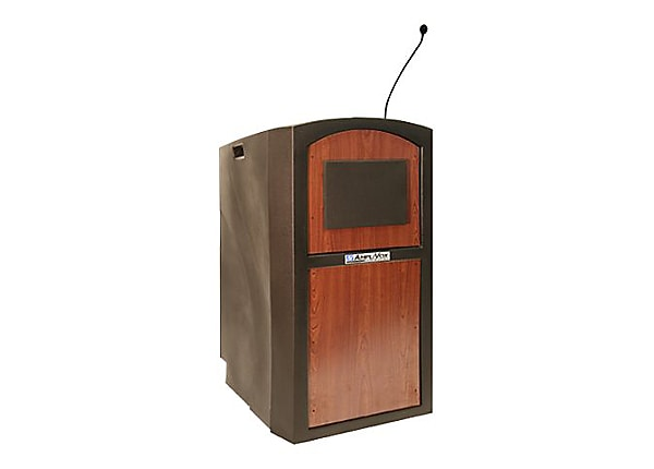 AmpliVox Pinnacle SW3250 - lectern - select cherry