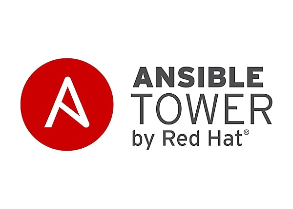 Ansible Tower - premium subscription (1 year) - 5000 managed nodes - with R