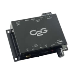 C2G Compact Amplifier with External Volume Control - amplifier