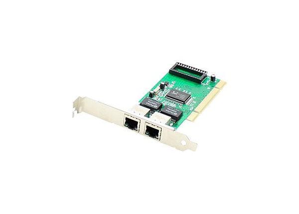 Proline - network adapter - PCI - Gigabit Ethernet x 2