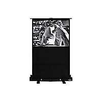 Hamilton Buhl HDTV Format - projection screen with floor stand - 60 in (59.