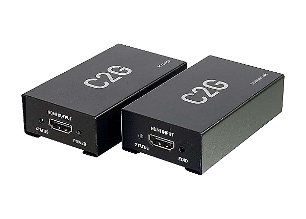 C2G HDMI over Cat5/6 Extender - video/audio extender - HDMI