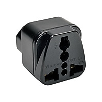 Tripp Lite Power Plug Adapter for IEC-320-C13 Outlets - power connector ada