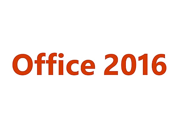 Microsoft Office for Mac Home & Student 2016 - license - 1 license