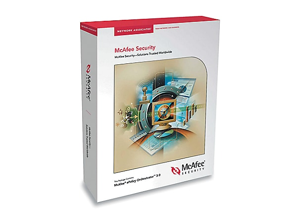 McAfee Active VirusScan Suite - box pack - 5 users