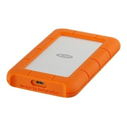 LaCie Rugged USB-C - hard drive - 2 TB - USB 3.1 Gen 1