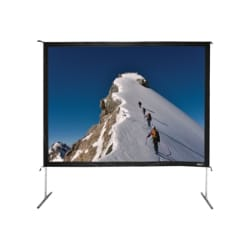 """Hamilton Buhl Video Format - projection screen with legs - 135"""" (343 cm)"""