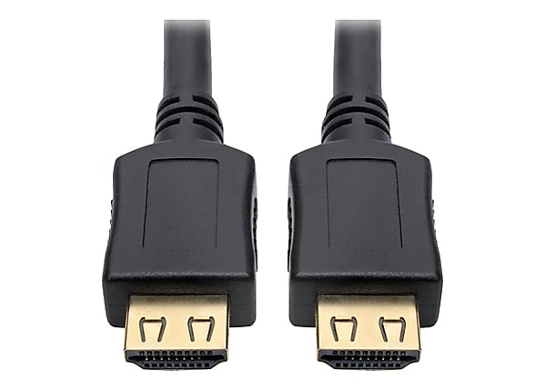 Tripp Lite High-Speed HDMI Cable w/ Gripping Connectors 4K M/M Black 6ft