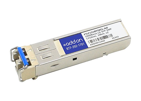 AddOn Finisar FTLF1318P2BCL Compatible SFP Transceiver - SFP (mini-GBIC) tr