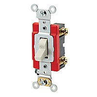 Leviton 20A Toggle Single-Pole AC Quiet Switch