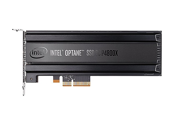 Intel Optane SSD DC P4800X Series - solid state drive - 750 GB - PCI Expres
