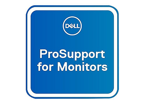 Dell Upgrade from 1Y Advanced Exchange to 3Y ProSupport for monitors - exte