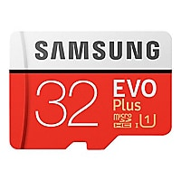 Samsung EVO Plus MB-MC32GA - carte mémoire flash - 32 Go - microSDHC UHS-I