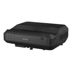 Epson Home Cinema LS100 - 3LCD projector - ultra short-throw - LAN