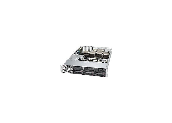 Supermicro SuperServer 8028B-C0R4FT - rack-mountable - no CPU - 0 MB - 0 GB