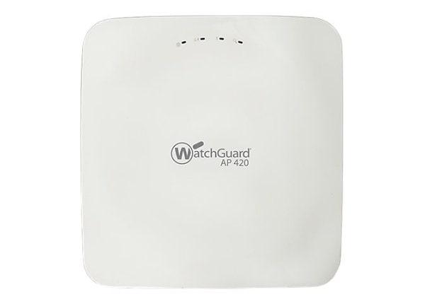 WatchGuard AP420 - wireless access point - with 1 year Basic Wi-Fi