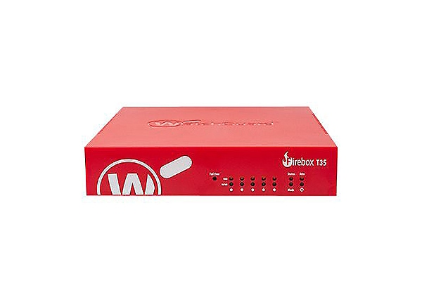 WatchGuard Firebox T35-W - security appliance - with 3 years Total Security