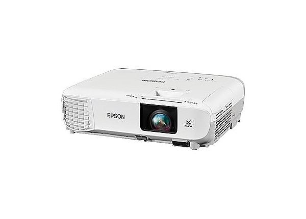 Epson PowerLite 109W - 3LCD projector - portable - LAN