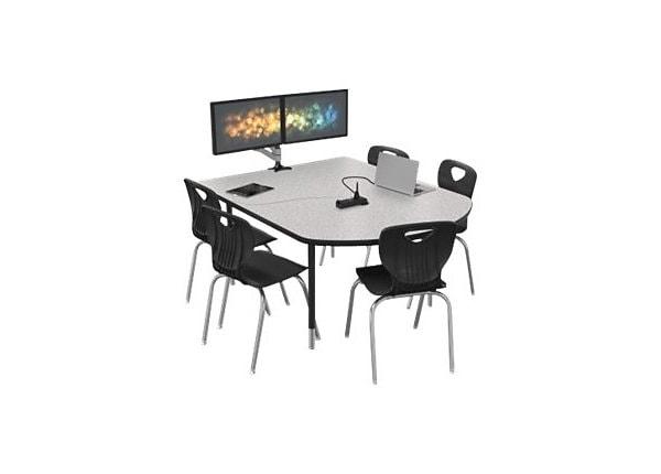 MooreCo MediaSpace Multimedia & Collaboration Small - table