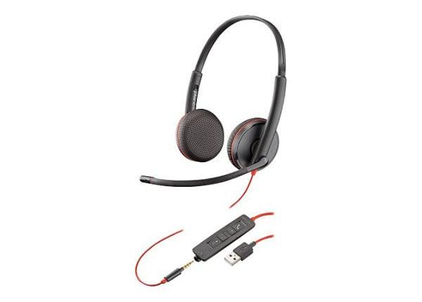 Poly - Plantronics Blackwire C3225 USB - headset