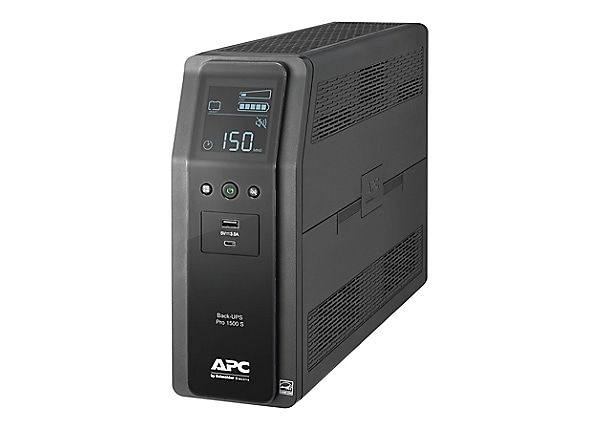APC Back-UPS Pro 1500VA 10-Outlet/2-USB Battery Back-Up and Surge Protector