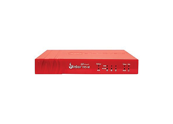 WatchGuard Firebox T15-W - security appliance - with 1 year Standard Suppor