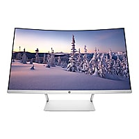 HP 27 - LED monitor - curved - 27""
