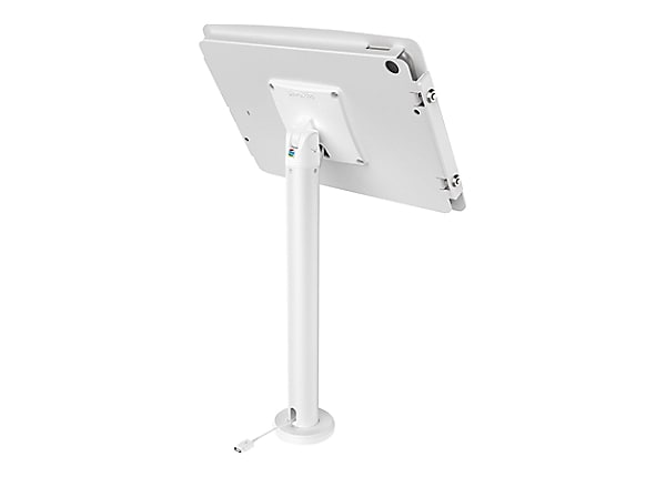 "Compulocks Space Rise - iPad 9.7"" Counter Top Kiosk 24"" - White - mounting"