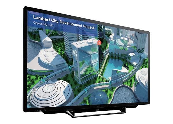 "Sharp PN-L705H Aquos Board - 70"" Class (69.5"" viewable) LED display - 4K"