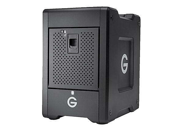 G-Technology G-SPEED Shuttle with Thunderbolt 3 GSPSTH3NB240004BBB - hard d