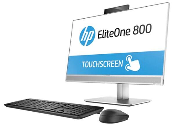 """HP EliteOne 800 G3 23.8"""" AiO i5-7500 8GB 256GB Win 10 Pro - Touch"""