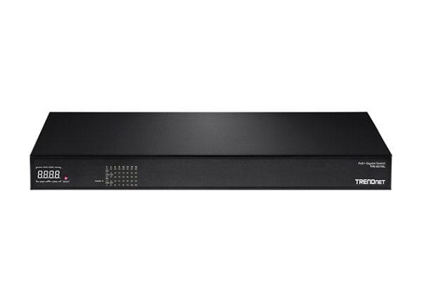 TRENDnet TPE 3016L - switch - 16 ports - rack-mountable
