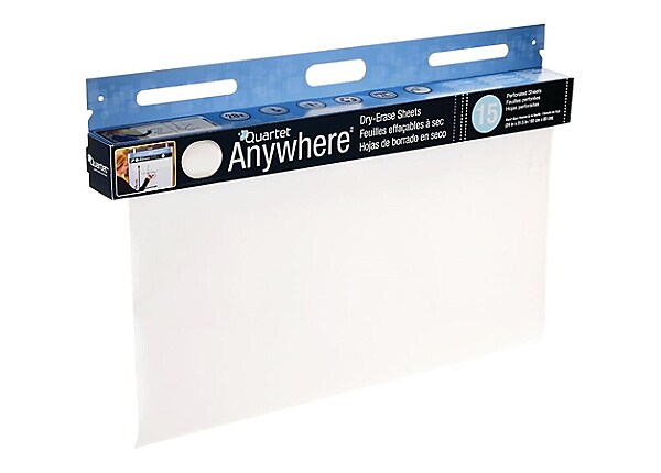 Quartet Anywhere dry erase surface
