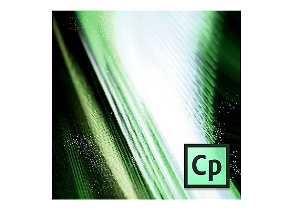 Adobe Captivate for Teams - Team Licensing Subscription Renewal (monthly) -