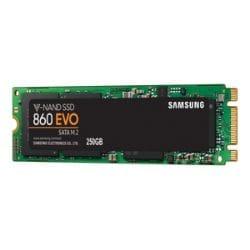 Samsung 860 EVO MZ-N6E250BW - solid state drive - 250 GB - SATA 6Gb/s