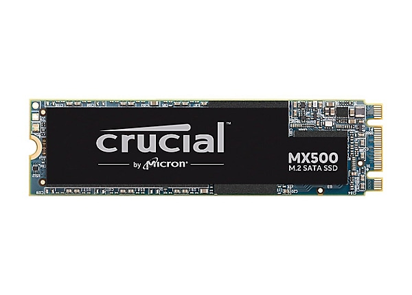 Crucial MX500 - solid state drive - 1 TB - SATA 6Gb/s