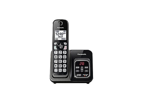 Panasonic KX-TGD530 - cordless phone - answering system with caller ID/call