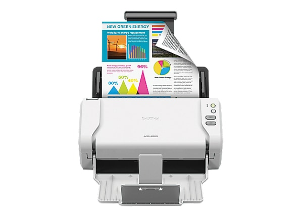 Brother ADS-2200 - document scanner - desktop - USB 2.0, USB 2.0 (Host)