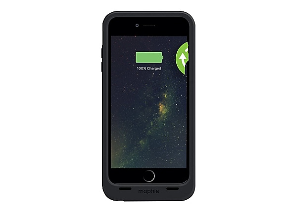 Mophie Juicepack Black Wireless Charging Case - Iphone 6 Plus