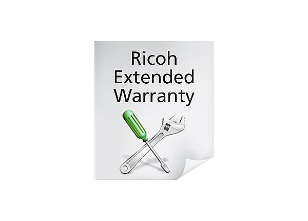 Ricoh On-Site Extended Warranty - extended service agreement - 2 years - on