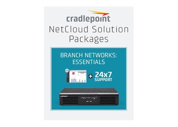 Cradlepoint NetCloud Essentials for Branch Routers (Prime) - subscription l