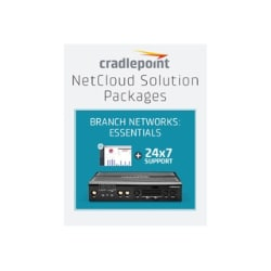 Cradlepoint NetCloud Essentials for Branch Routers (Enterprise) FIPS - subs